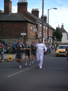Olympic Torch: Bury
