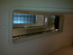 The RAC Club, stairwell
