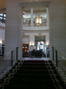 The sight that greets Ruth when she walks into the RAC club