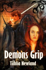 Here's the cover of Demon's Grip, Tahlia's new release.