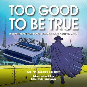 cover of too good to be true audio edition